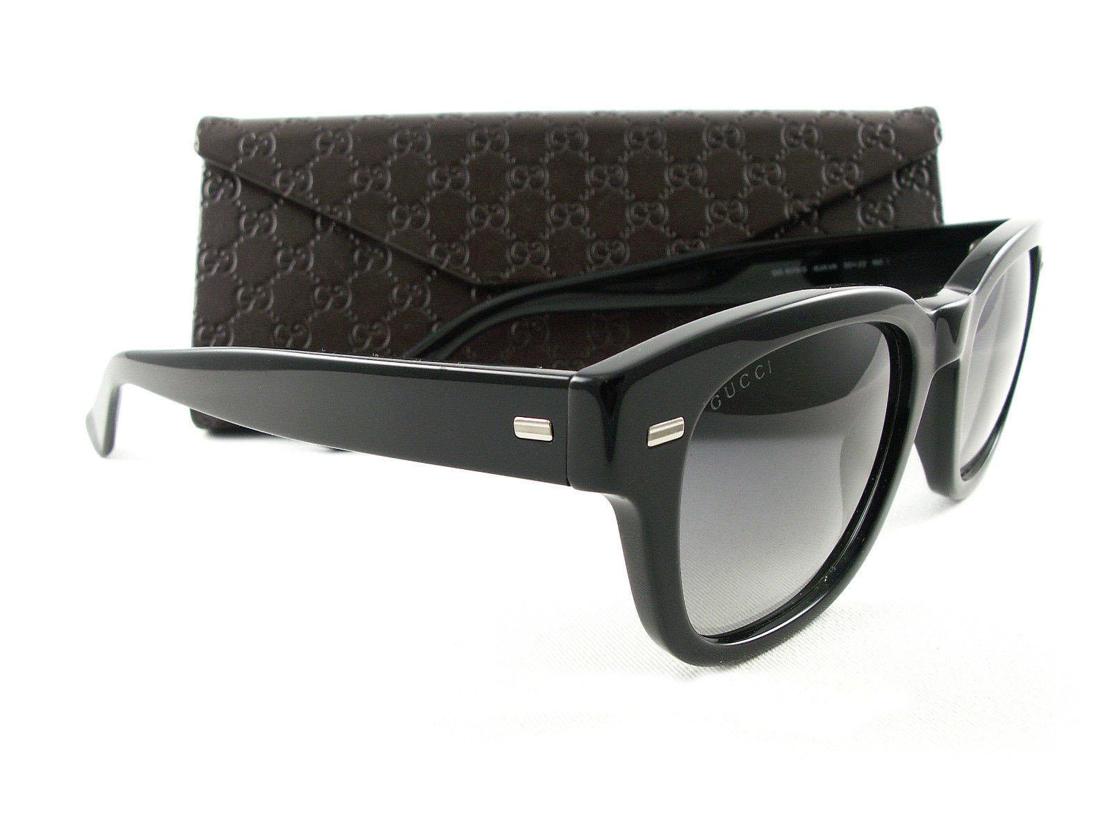 eefdc56f6a1 New Gucci Sunglasses GG 1078 s Black 4UAVK Authentic – AAM