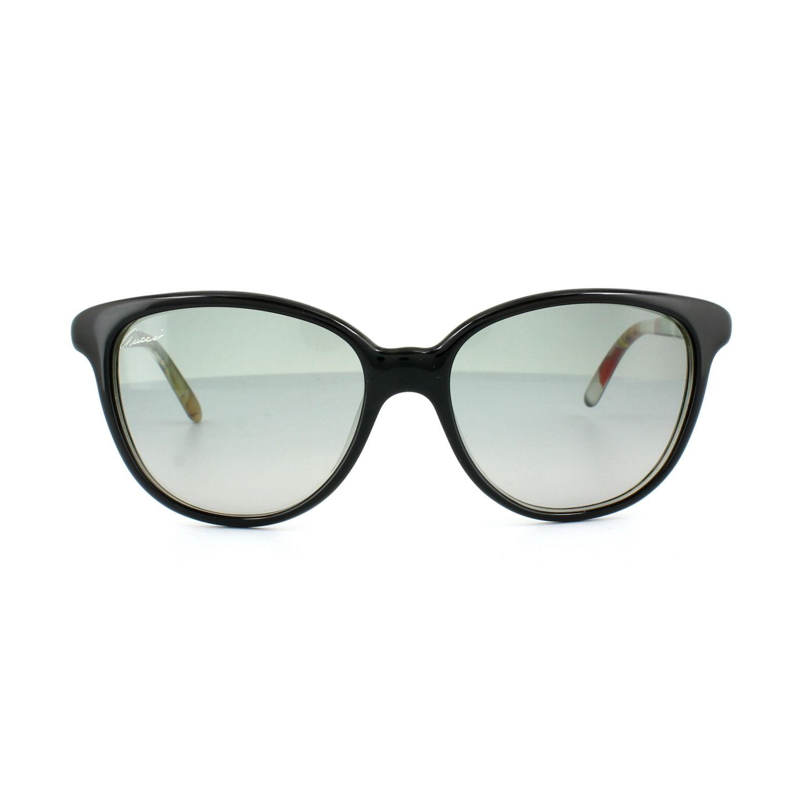 a42bdfbd69 GUCCI Sunglasses 3633   n   s z96 VK Black Flower Gray Gradient ...