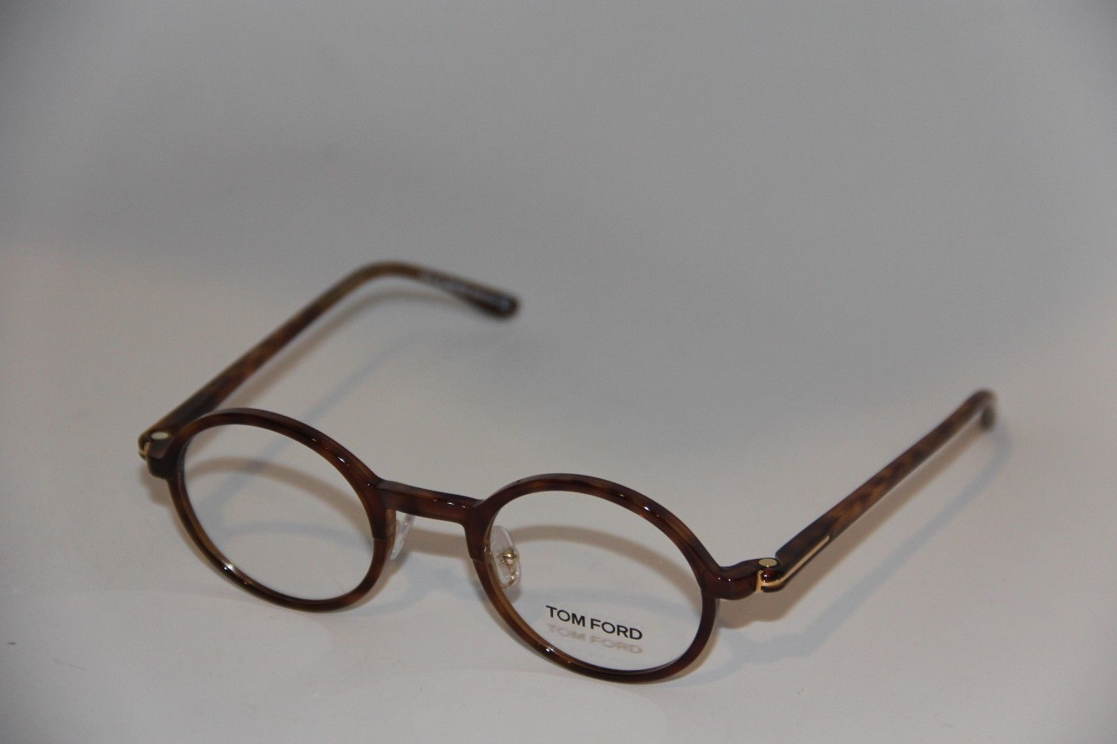 37c3608b9d7 New Tom Ford Tf 5254 052 Tortoise Round Frame Authentic Eyeglasses ...