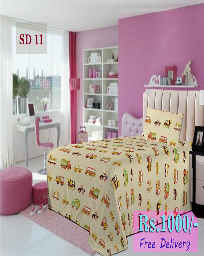 Export Quality Single Bed Sheet SD 11